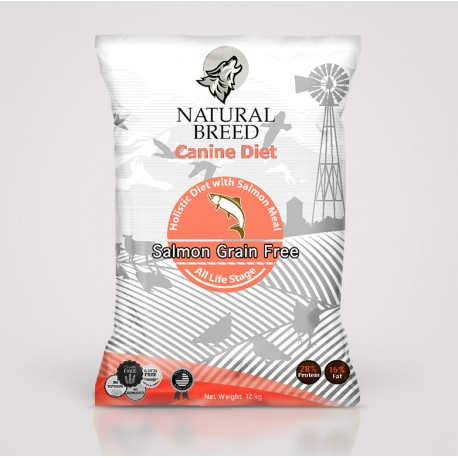 Canine Diet Salmon (Breeder)
