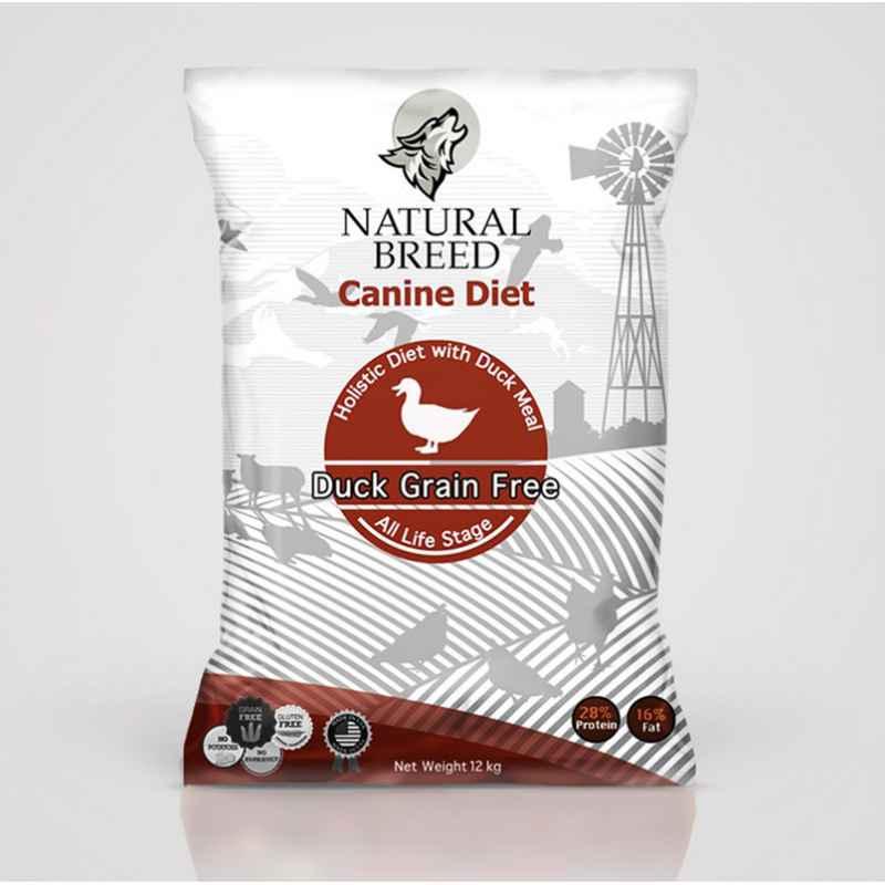 Duck grain free - Canine Diet