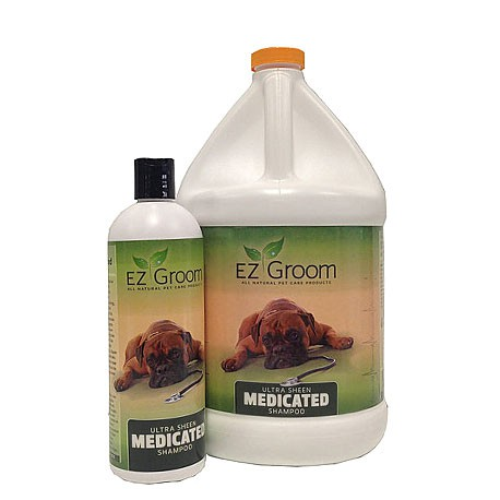 Ultra Sheen Medicated Shampoo for dogs
