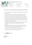 Certificat - Viande fraichement préparée